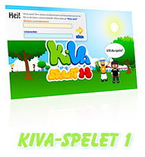 Bilden fungerar som en länk till KiVa-spel 1